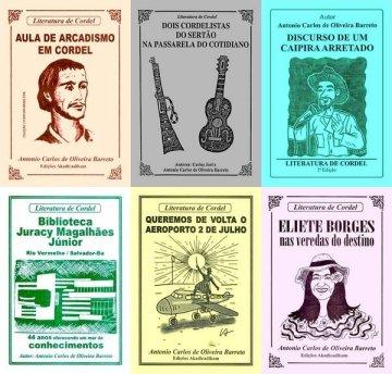 Capas de Cordel Popular da Bahia